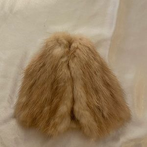Vintage Real Fur Barbie Lot